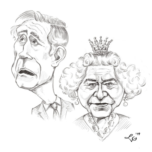 Elżbieta II i Książę Karol