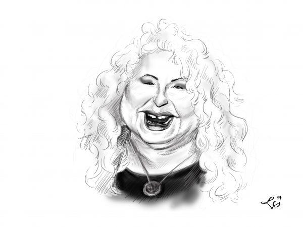 Magda Gessler karykatura
