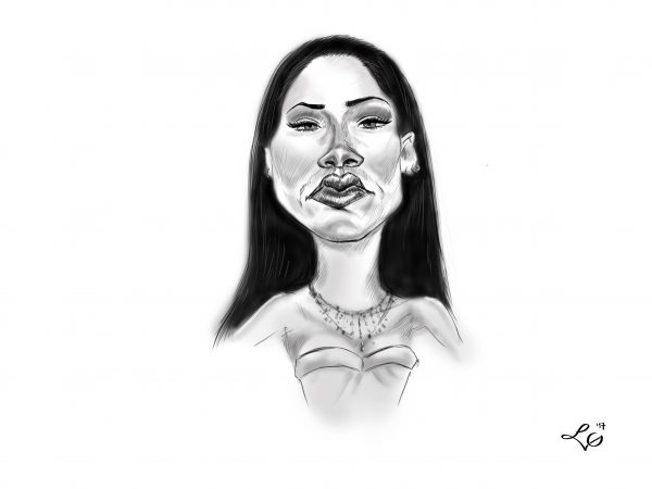 Rihanna karykatura