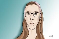 karykatura portret