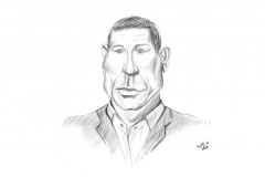 Daniel Craig karykatura