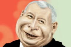 Jarosław Kaczyński karykatura